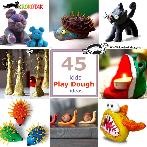 play doughcraft ideas for kids