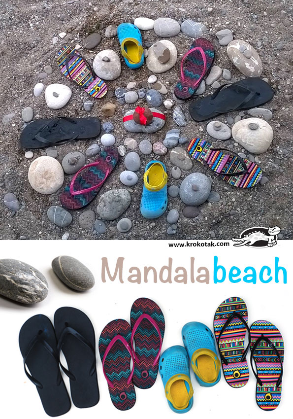 3 Ideas with Beach Pebbles