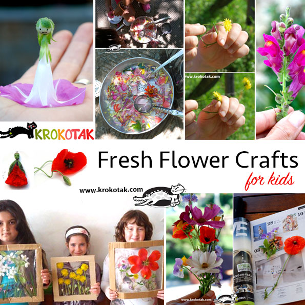 Fresh Flowers Crafts