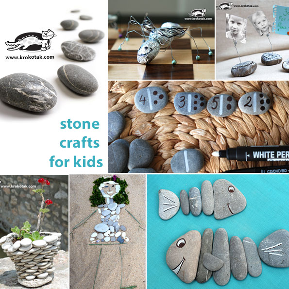 stone kids crafts