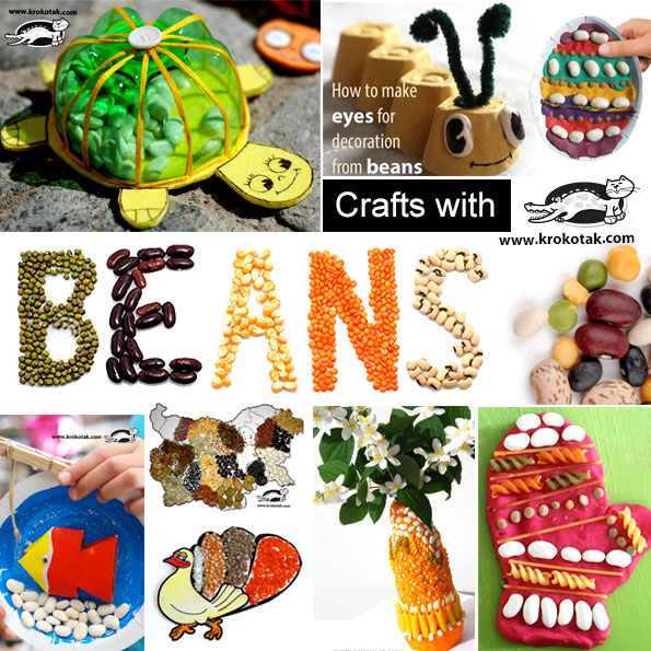beans kids crafts