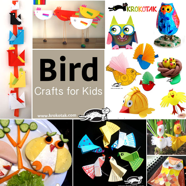 bird kids crafts