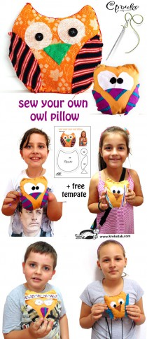 Sew Your Own Owl Pillow