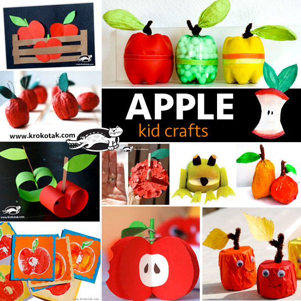 apple kids crafts