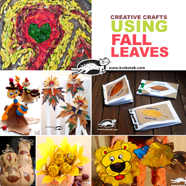 fall-leaves kids crafts
