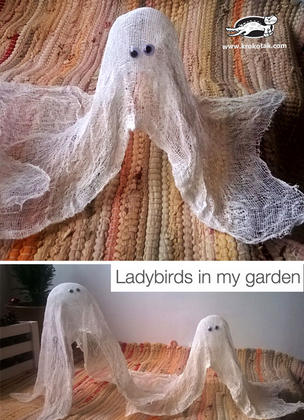 Easy-To-Make Friendly Ghosts for Halloween