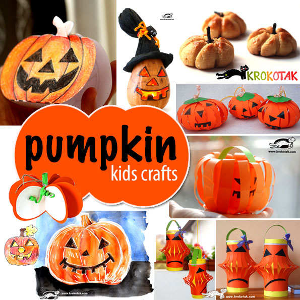 PUMPKINS kids crafts