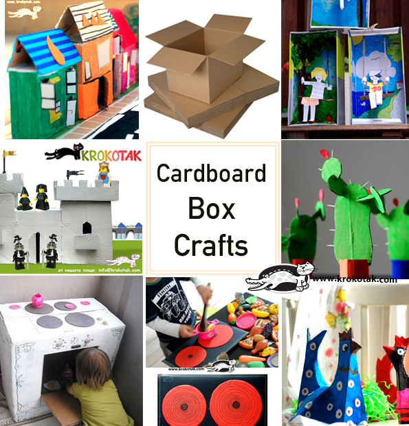 carboard box crafts