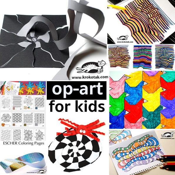 op-art for kids
