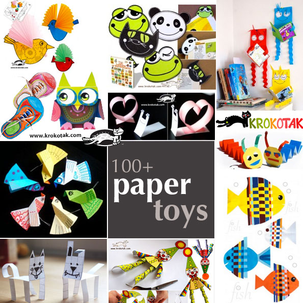 paper-toys crafts