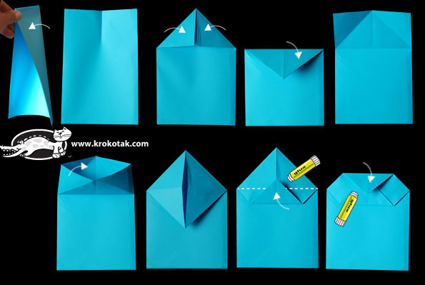 Christmas Advent Calendar - Paper Bag Houses