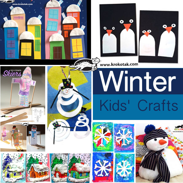 winter kids crafts