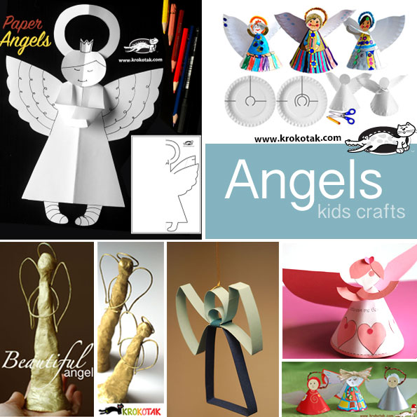 angels kids crafts