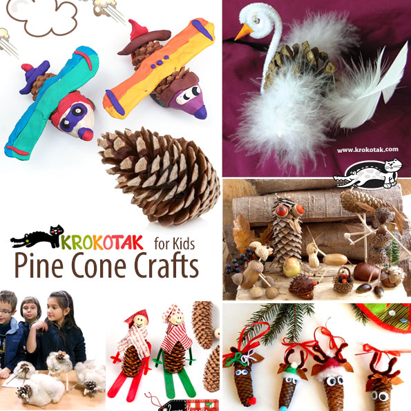pinecone kids crafts