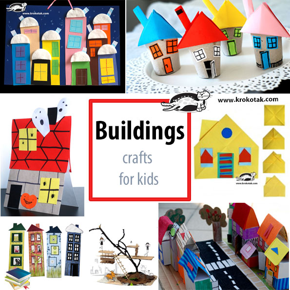 buildings kids crafts