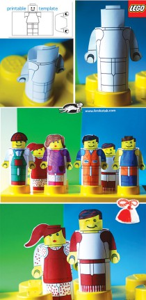 DIY lego people