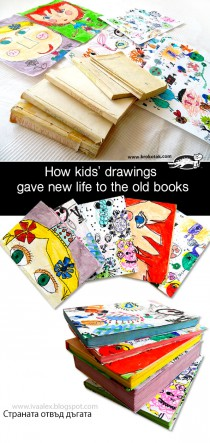 How kids' drawings gave new life to the old books