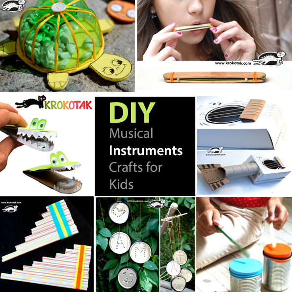 music DIY kids craft