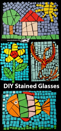 DIY Stained Glasses