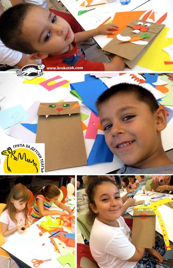 paper bag kids crafts