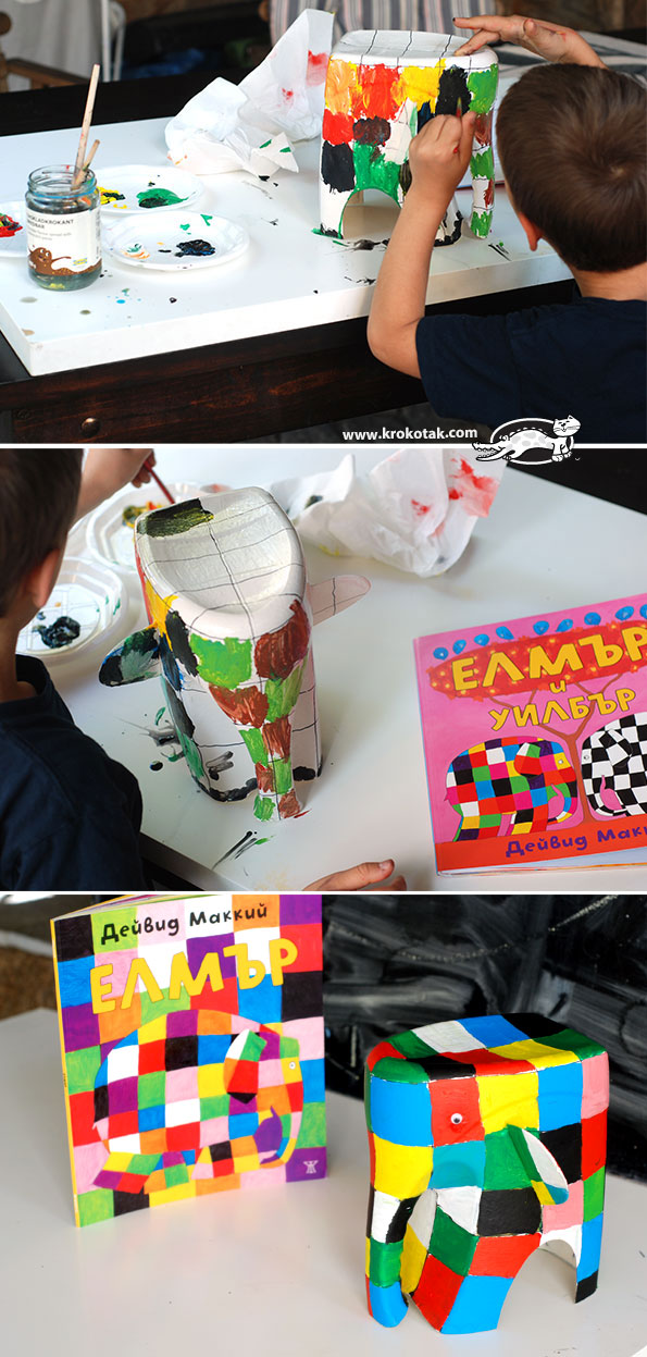 Elmar the Elephant kids crafts