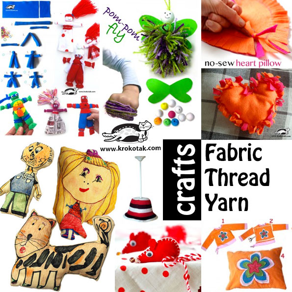 fabric kids crafts