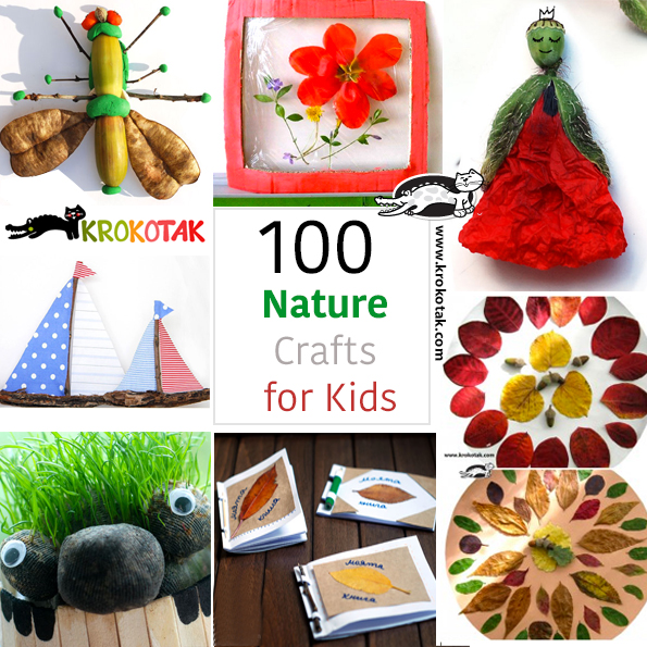natural kids crafts