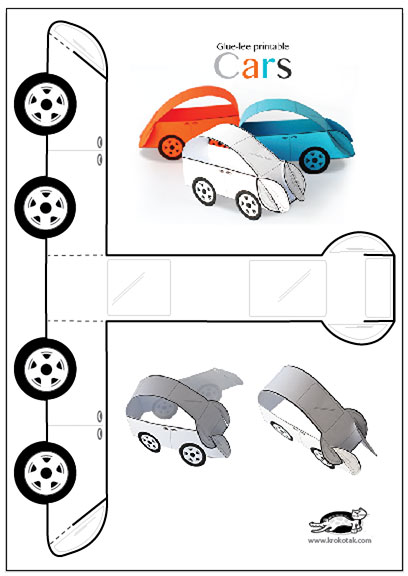 image regarding Printable Cars identify krokotak Glue-lee printable Autos