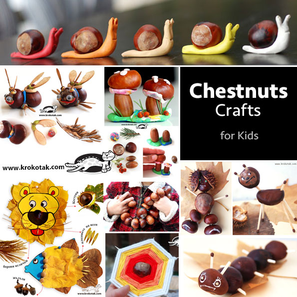 Chestnuts-kids crafts