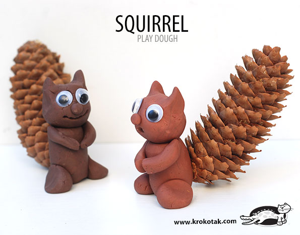 SQUIRREL  kids crafts