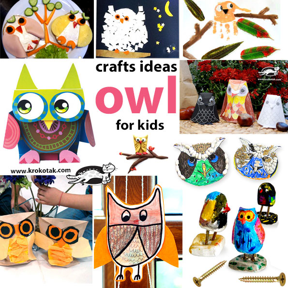 owl kids crafts
