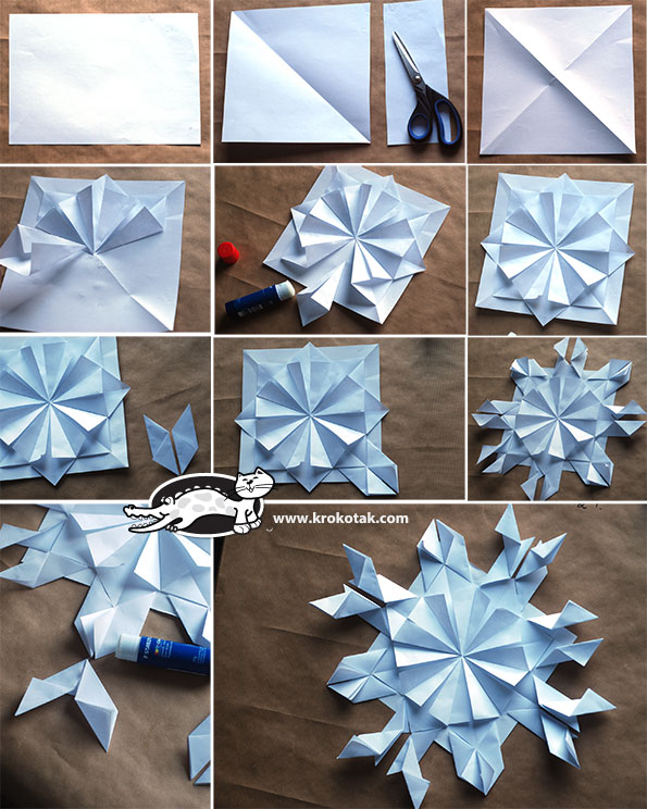 4Paper Snowflake Decorations