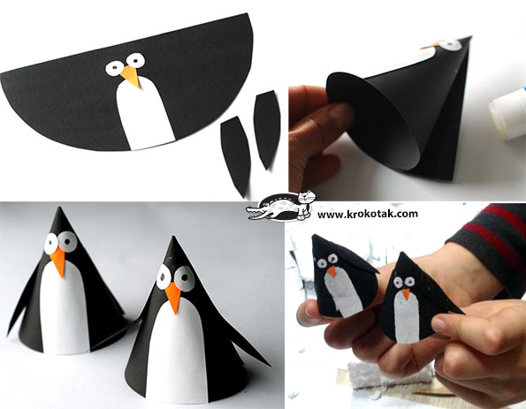 3Penguin Crafts