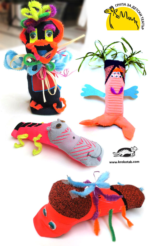 DIY Sock Creatures