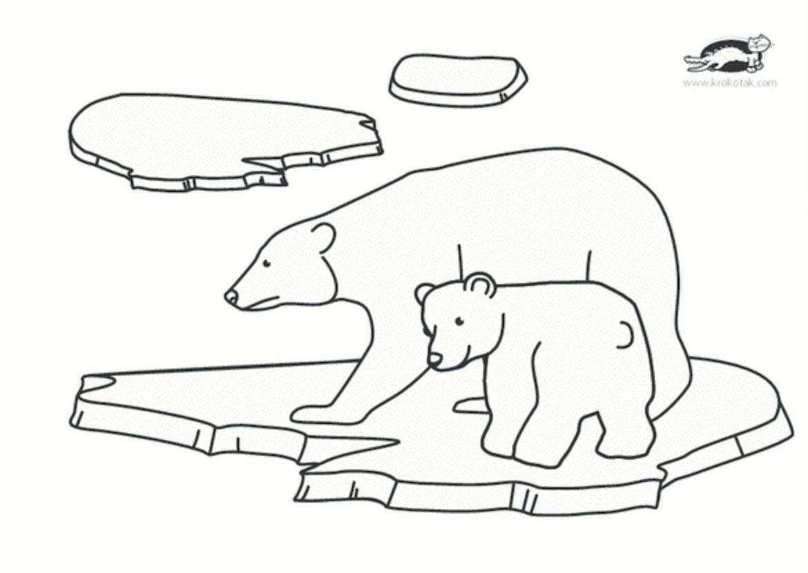 krokotak polar bear crafts
