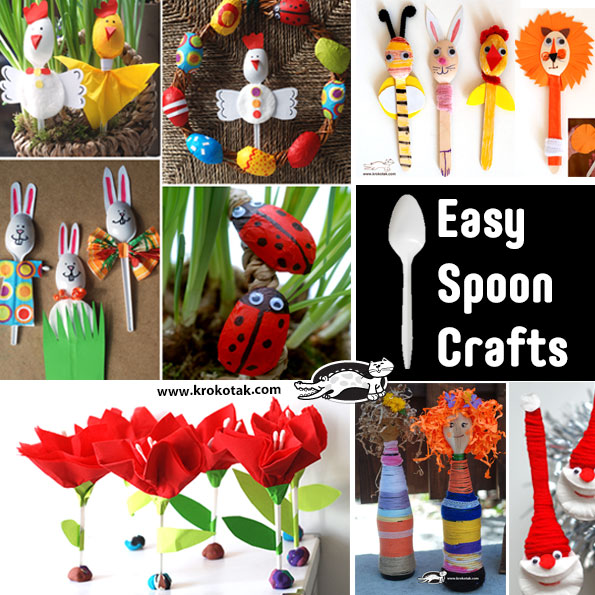 spoons kids crafts