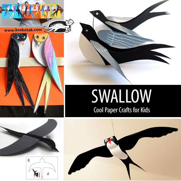 swallow kids crafts