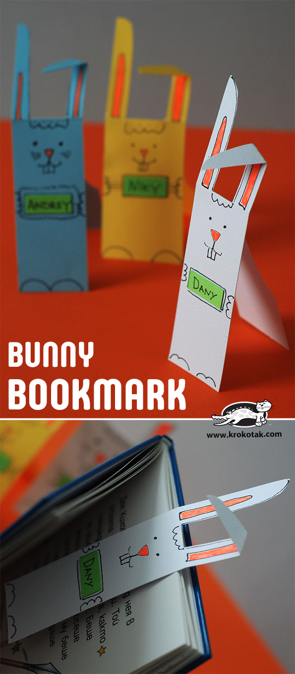 How to Make Paper Bunny Rabbit Bookmark   Step by Step Guide to ...   1358x595