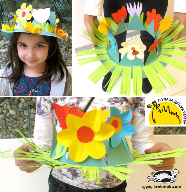 Krokotak Diy Spring Crown