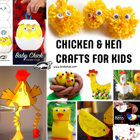 chicken kids crafts