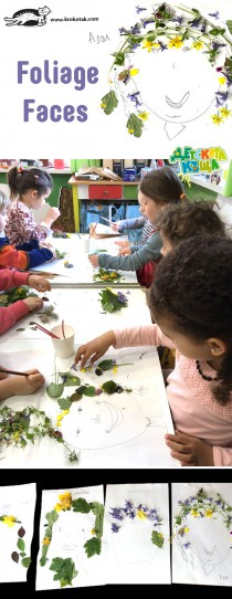 Nature Craft: Foliage Faces