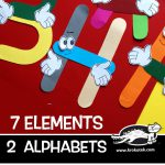 7 elements - 2 alphabets