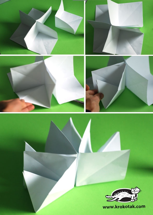 How to Make an Origami House (EASY) - YouTube | 836x595