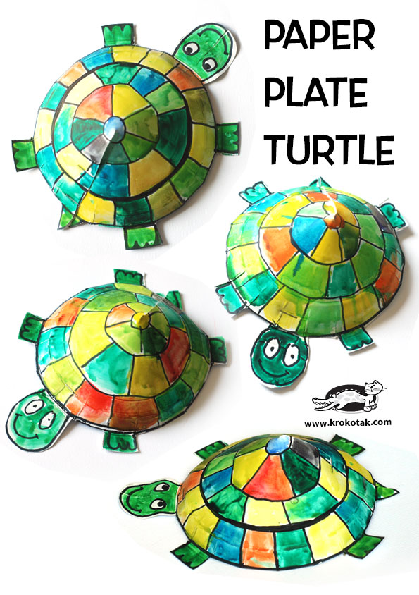 An error occurred.  sc 1 st  krokotak & krokotak | Paper Plate Turtle Craft