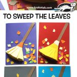 To sweep the leaves