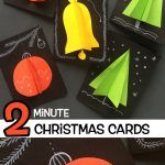 2 Minute Christmas Cards
