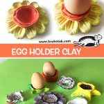EGG HOLDER CLAY