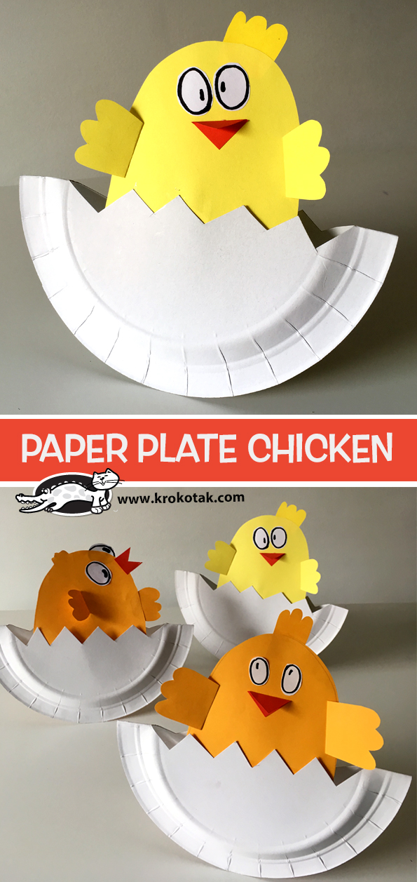 An error occurred. : paper plate chicken craft - pezcame.com