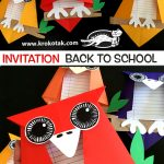 BACK TO SCHOOL - INVITATION