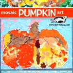 Mosaic Pumpkin Art